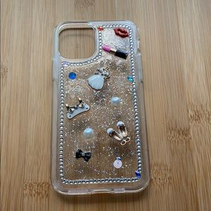 iPhone 11 Pro clear hand made art design case
